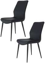 Pangea Set Of 2 Laurel Dining Chairs