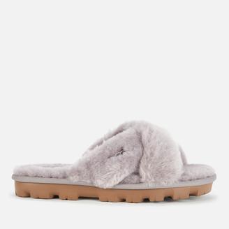 UGG Women's Fuzzette Sheepskin Slide Slippers - Soft Amethyst