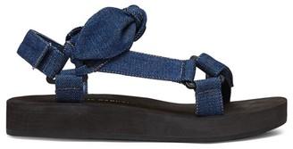 Loeffler Randall Maisie Denim Sport Sandals