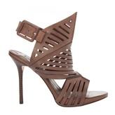 Max Studio Etienee - Slashed Leather Stiletto Sandal