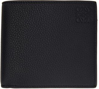 Loewe Black Grained Bifold Wallet