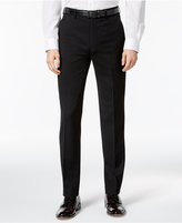 Ben Sherman Men's Slim-Fit Black Solid Suit Pants