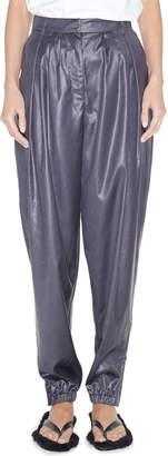 Tibi Pleated Tapered Pants