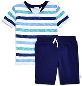 Splendid Boys' Striped Tee & Shorts Set - Little Kid