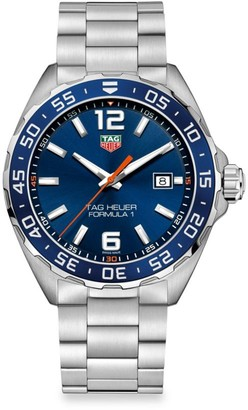 Tag Heuer Formula 1 43MM Stainless Steel Quartz Bracelet Watch