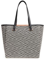 Ted Baker Large Woven Faux Leather Shopper - Black