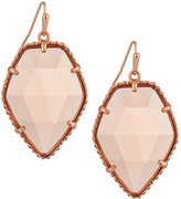 Kendra Scott Corley Pentagon Drop Earrings, Peach