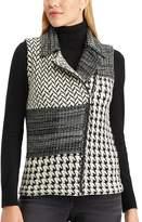 Chaps Women's Buffalo Plaid Sweater Vest