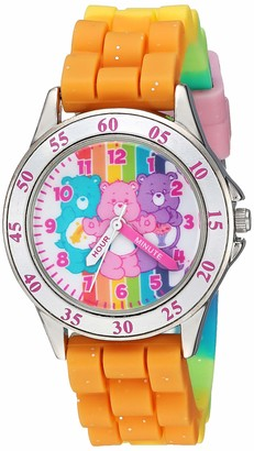 Care Bears Girls' Analog-Quartz Watch with Rubber Strap