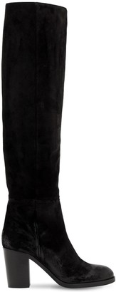 Strategia 80MM SUEDE OVER THE KNEE BOOTS