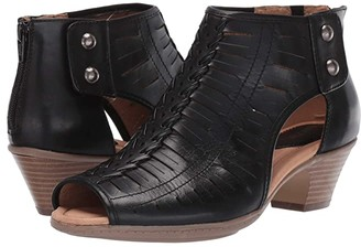 Earth Vicki (Black Leather) Women's Sandals