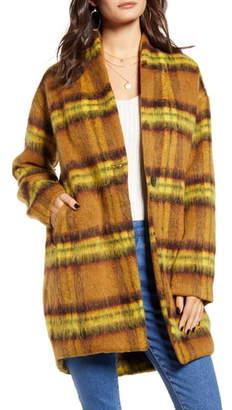 Blank NYC BLANKNYC Marigold Plaid Jacket
