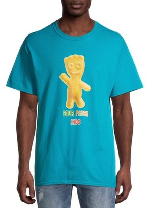 Sour Patch Kids Hello Men's and Big Men's Graphic T-shirt