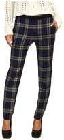 Juicy Couture Eton Plaid Pant (Regal Eton Plaid) - Apparel