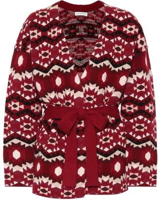 Altuzarra Patterned cashmere cardigan