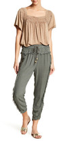 Anama Frayed Trim Pant