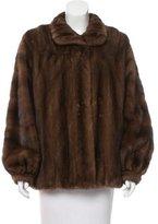 Valentino Short Mink Coat