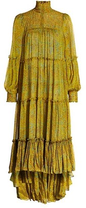 Cinq à Sept Rika High-Low Maxi Dress