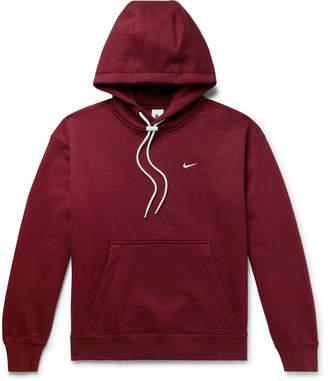 Nike Nrg Fleece-Back Cotton-Jersey Hoodie