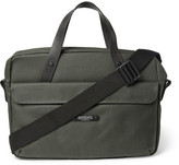 Brooks England - Lexington Coated Canvas Briefcase