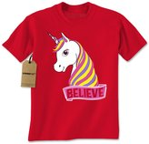 Expression Tees Mens Unicorn Believe T-Shirt