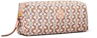 Tory Burch Piper Printed Long Cosmetic Case