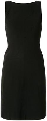 Chanel Pre Owned 1997 sleeveless knee-length dress