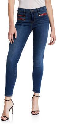Etienne Marcel Zip Pocket Ankle Skinny Jeans