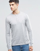 French Connection Long Sleeve Henley Top