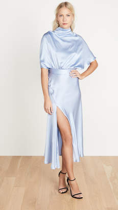 Ellery Soul Driver Cape Sleeve Dress