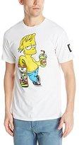 Neff Men's Chillin Simpsons T-Shirt