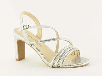 The Divine Factory Women's Lune Ankle Strap Sandals