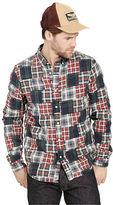 Denim & Supply Ralph Lauren Patchwork Plaid Oxford Shirt