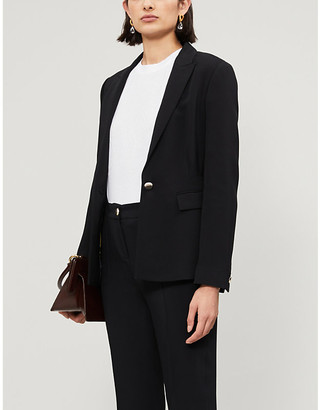 Ted Baker Raee single-breasted stretch-crepe blazer