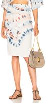 Raquel Allegra Tube Skirt in Blue,Ombre & Tie Dye,Pink,White.