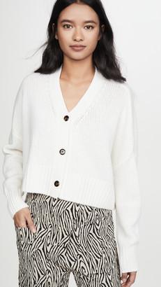 SABLYN Cropped Cashmere Cardigan
