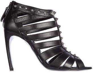 Alexander McQueen Studded Heeled Sandals
