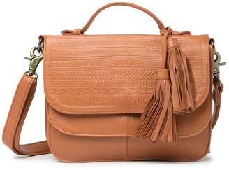 Day & Mood Sandi Leather Saddle Bag
