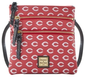 Dooney & Bourke Cincinnati Reds North South Triple Zip Purse