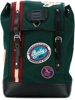 Bally Alpina backpack - men - Cotton/Leather - One Size