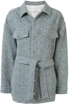 IRO Tie-Waist Oversized Jacket