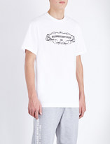 Billionaire Boys Club Tomorrow's World cotton-jersey t-shirt