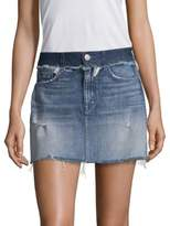 Hudson Contrast Waist Skirt