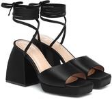 Nodaleto Exclusive to Mytheresa Bulla Marshall satin sandals