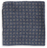 Black Brown 1826 Patterned Pocket Square