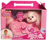 Puppy Surprise Puppy Surprise Plush Mati - Pink & White Mottled
