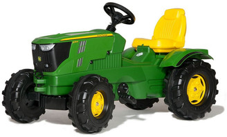 John Deere 6210R Ride-On Tractor Toy No