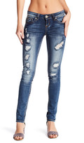 Soundgirl Distressed Skinny Jeans (Juniors)