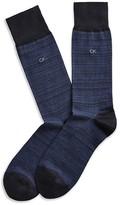 Calvin Klein Tonal Striped Socks