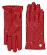 Calvin Klein Quilted Leather Gloves